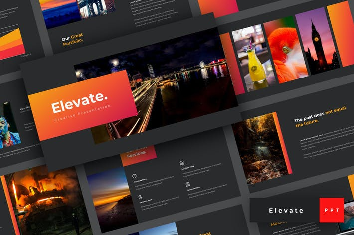 Thumbnail for Elevate - Creative PowerPoint Template