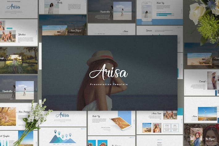 Thumbnail for Arisa - Presentation Template