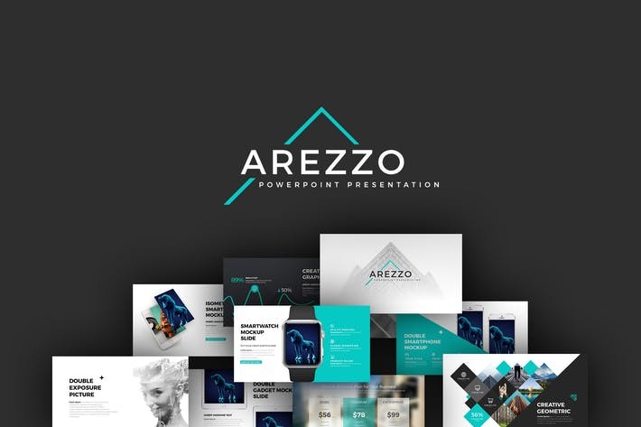 arezzo powerpoint presentation by brandearth on envato elements