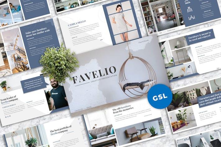 Favelio – Creative Business Googleslide Template
