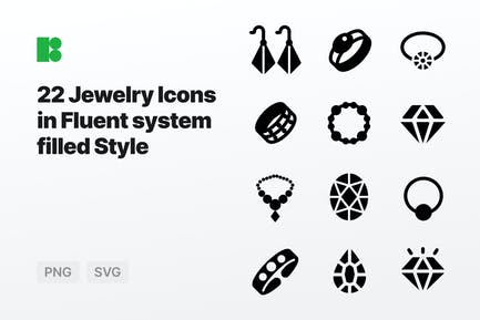 Fluent system filled - Jewelry