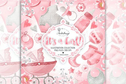 Baby Girl cliparts