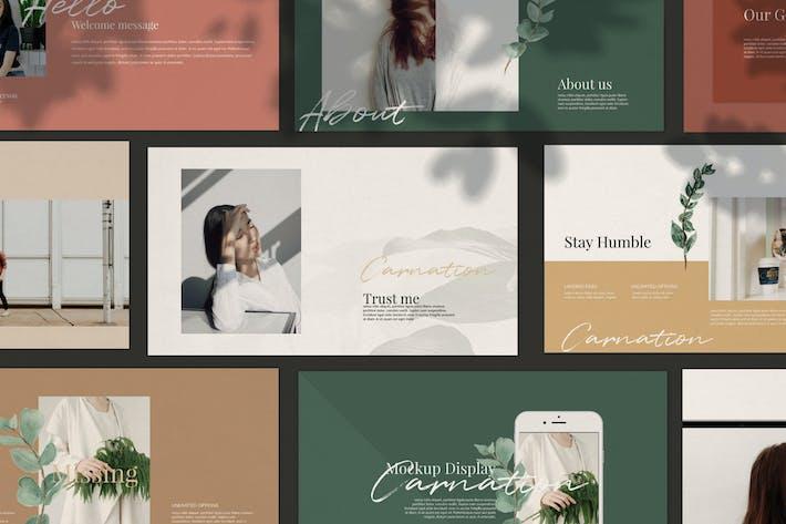 Cover Image For Carnation - Google Slide