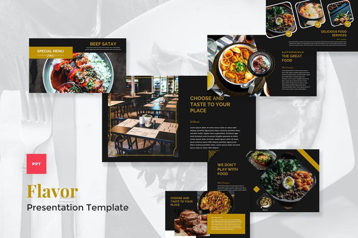 Catering & Food PowerPoint Template