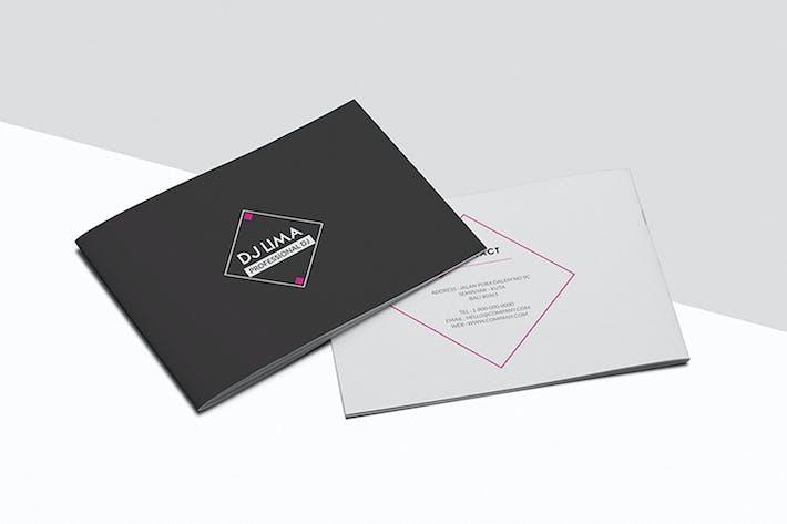 Thumbnail for Dj Press Kit Brochure
