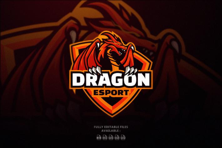 Thumbnail for Dragon Sports and E-sports Logo