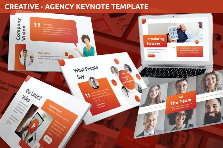 Thumbnail for Creative - Agency Keynote Template