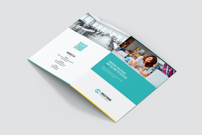 Thumbnail for Brochure – Creative Agency Bi-Fold