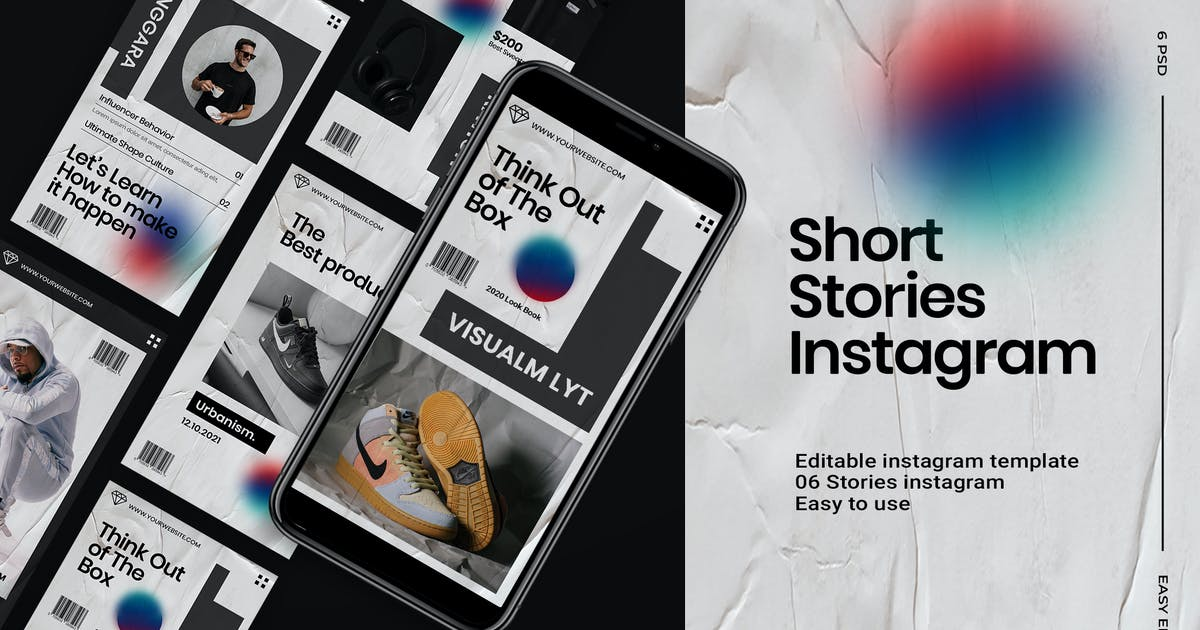 Download Short - Stories Instagram Template by DensCreativeStudio