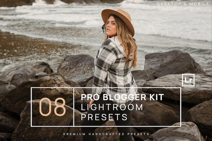 Thumbnail for 8 Pro Blogger Kit Lightroom Presets + Mobile