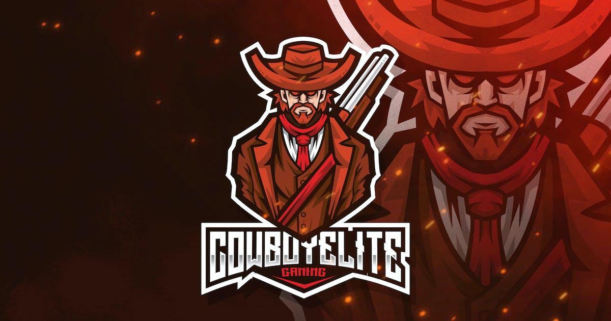 Download Cowboy Elite Esport Logo Template by StringLabs