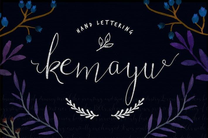 Thumbnail for Kemayu Typeface