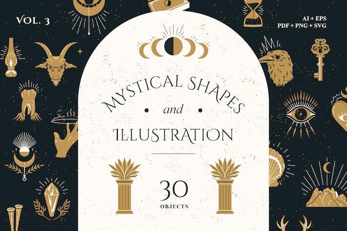 Mystical Shapes & Illustration