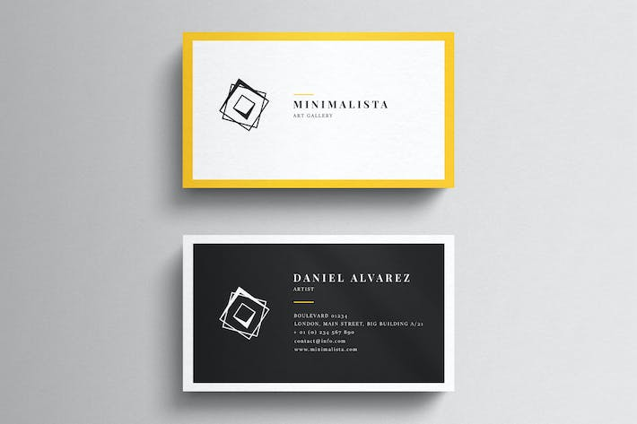 All the templates you can download envato elements thumbnail for minimal business card template colourmoves