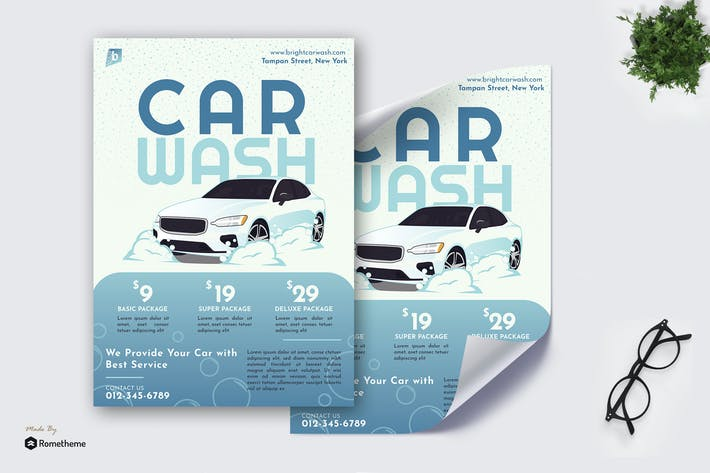 Thumbnail for Bright Car Wash - Poster GR