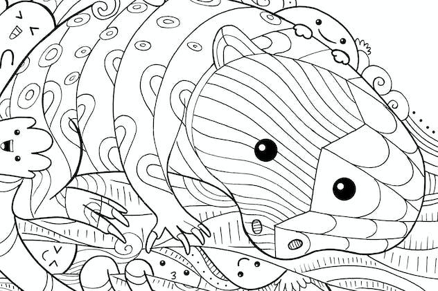 Cuscus Doodle