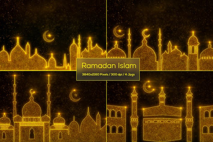 Thumbnail for Ramadan Islam Backgrounds
