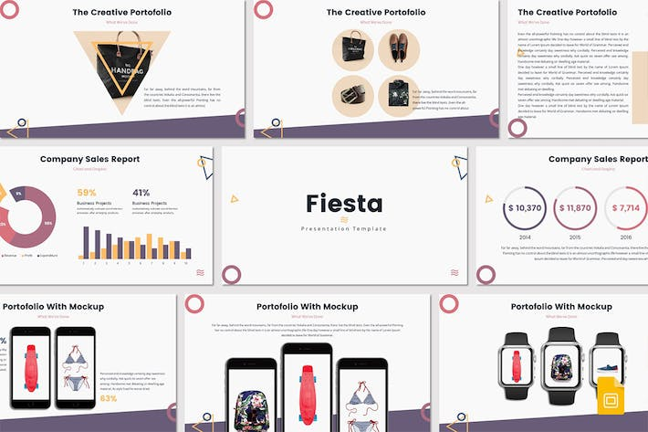 Thumbnail for Fiesta - Google Slides Template