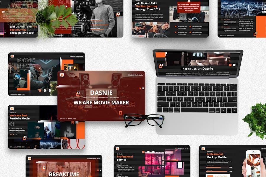 Dasnie - Movie Studio Keynote Template