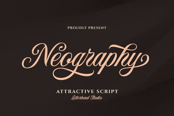 Thumbnail for Neography - Attractive Script