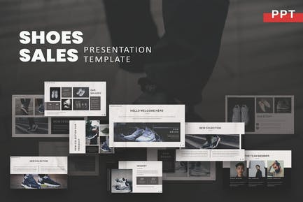 Shoes - Sales Powerpoint Template