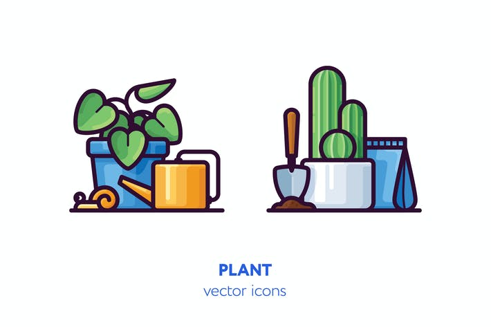 Thumbnail for Plant icons
