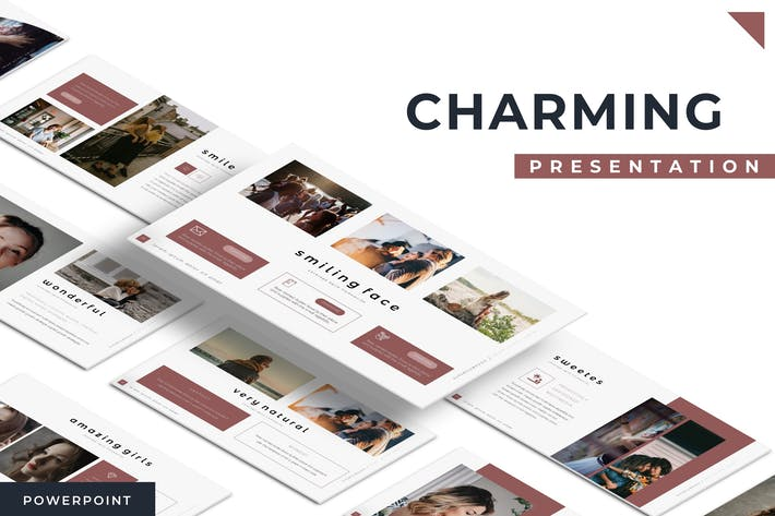 Thumbnail for Charming - Powerpoint Template