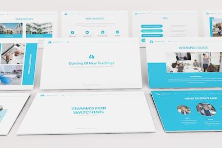 University Google Slides Presentation Template
