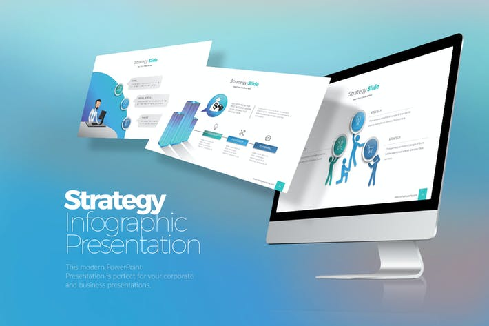Strategy Infographic  Powerpoint