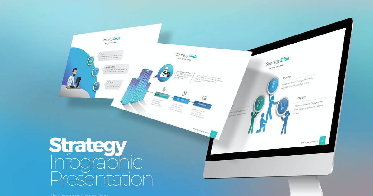 Download Strategy Infographic  Powerpoint by StockShape