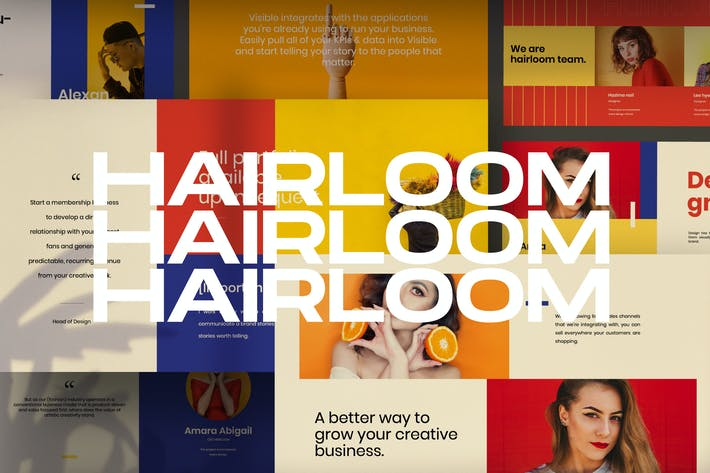 Thumbnail for HAIRLOOM - Keynote Business Creative