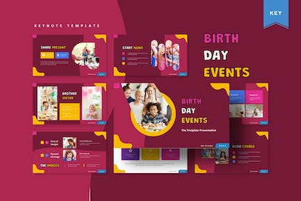 Birth Day Events   Keynote Template