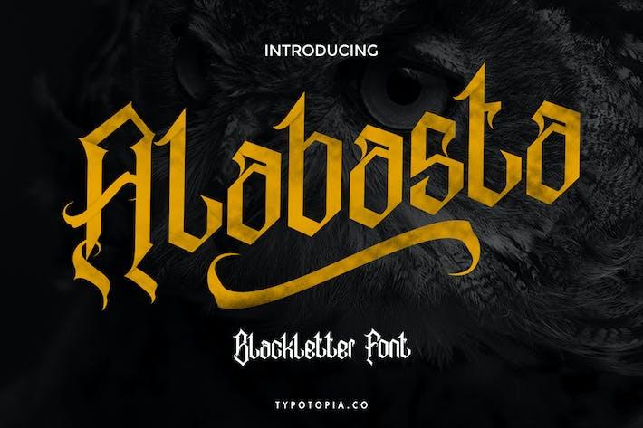 Alabasta - La police des lettres noires