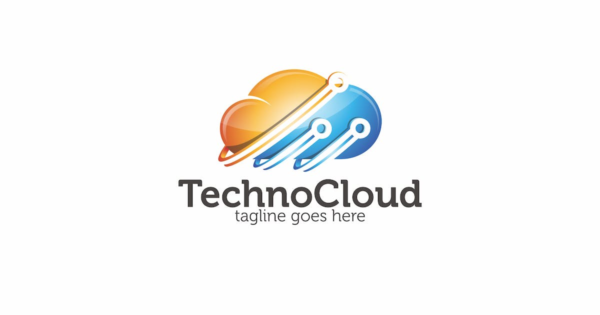 Techno Cloud - Logo Template by putra_purwanto