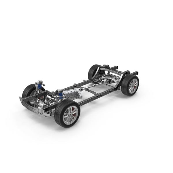 SUV Chassis Frame by PixelSquid360 on Envato Elements