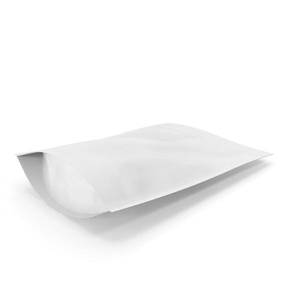 Zipper White Paper Bag 300g