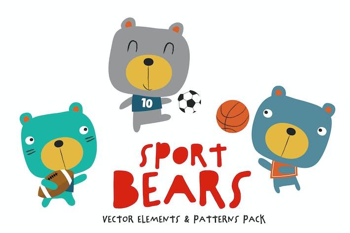 Sport Bears Pack
