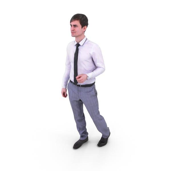 Man Standing Business