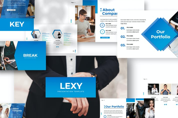 Thumbnail for Lexy Business Keynote Presentation
