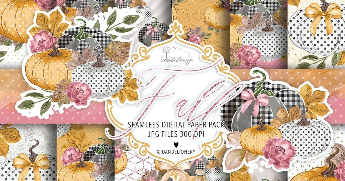 Download Fall digital paper pack by burlapandlace
