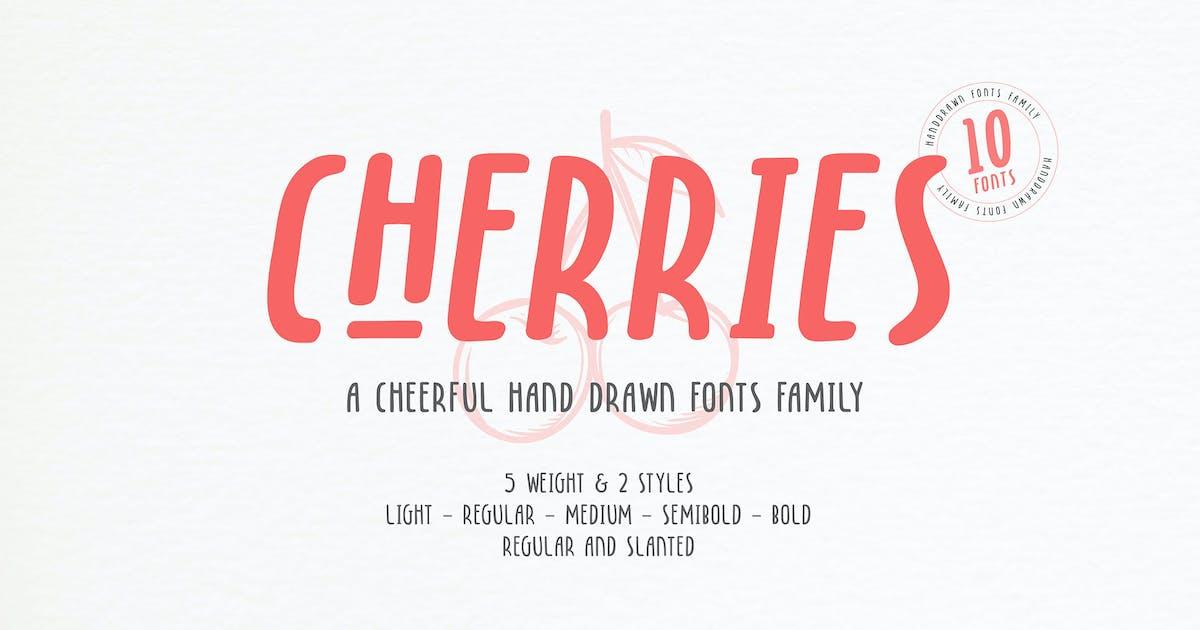 Download Cherries - 10 Fonts by DikasStudio