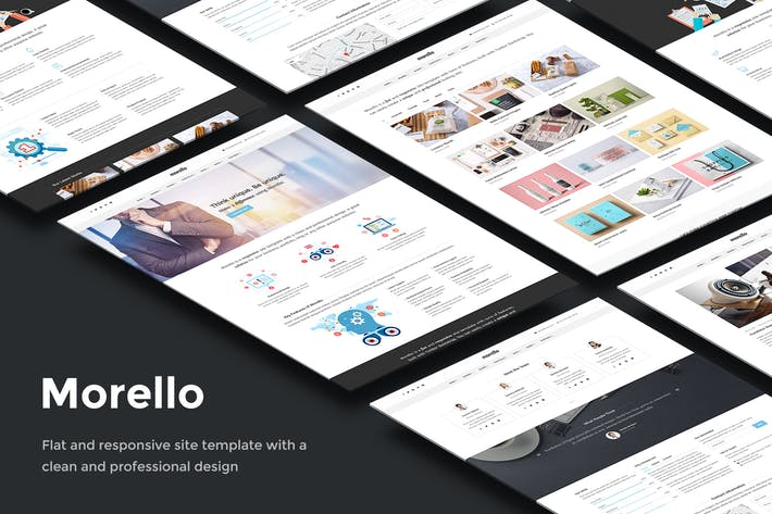 Thumbnail for Morello - Multipurpose Business Site Template
