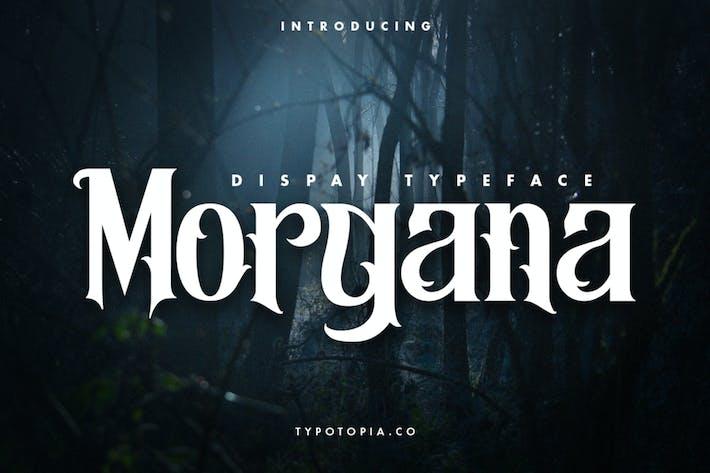 Morgana – Display Font