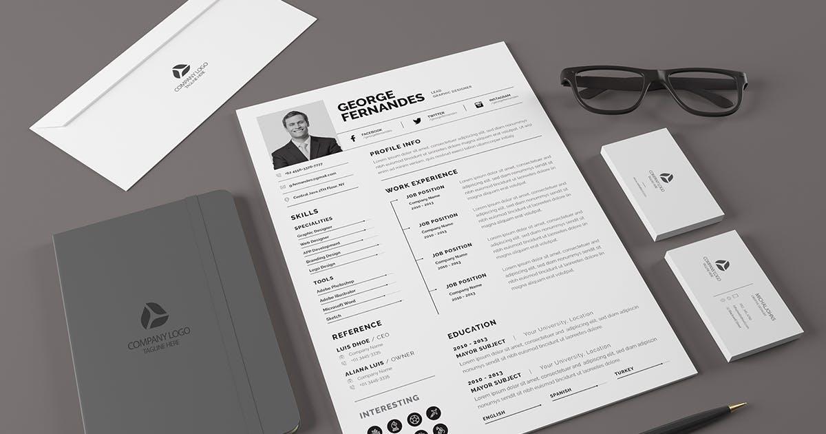 Download CV Resume by Last40