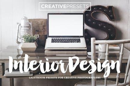 Interior Design Lightroom Presets