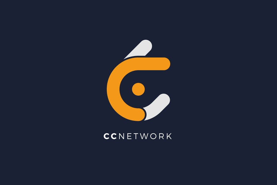 CC Networks Logo Template