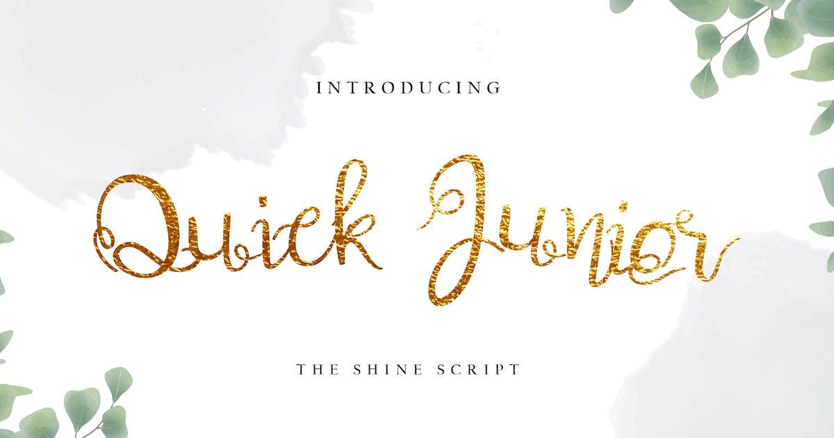 Download Quick Junior Decorative Calligraphy by uicreativenet