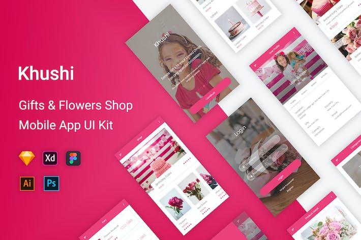 Thumbnail for Khushi - Gifts & Flowers Shop UI Kit