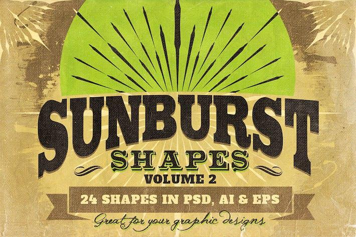 Thumbnail for Sunbursts Shapes Vol.2