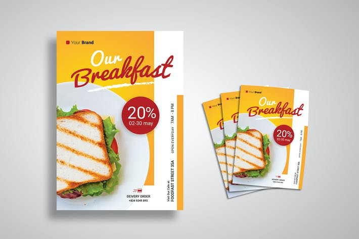 Thumbnail for Bakery Breakfast Flyer
